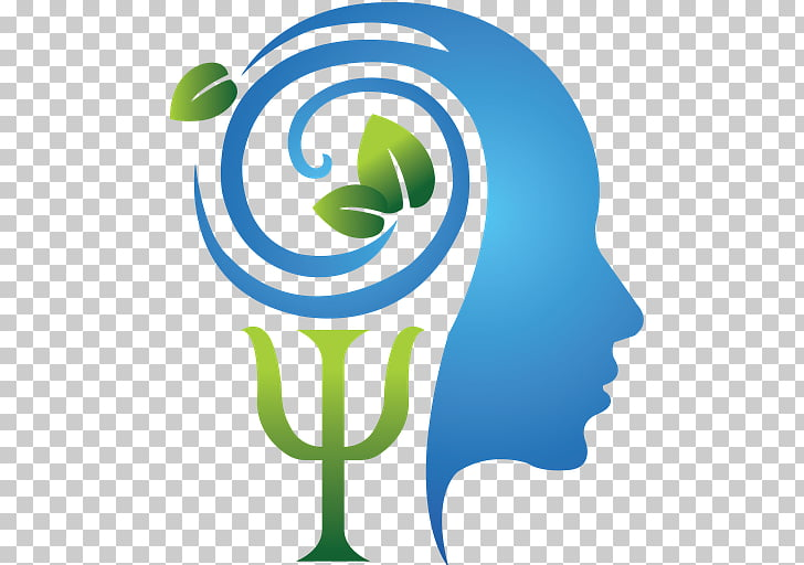Psychology Psychologist Logo Symbol, symbol, blue and green.