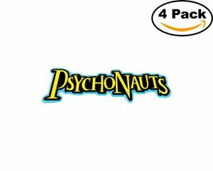 Details about Game Psychonauts Logo 4 Stickers 4X4 Inches Sticker Decal.