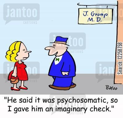 psychosomatic cartoons.