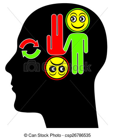 Psychotic Disorder Clip Art.