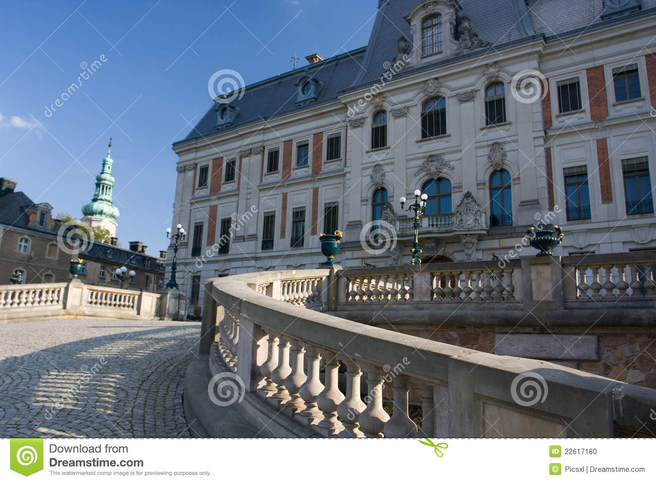 Pszczyna Poland Stock Photo.