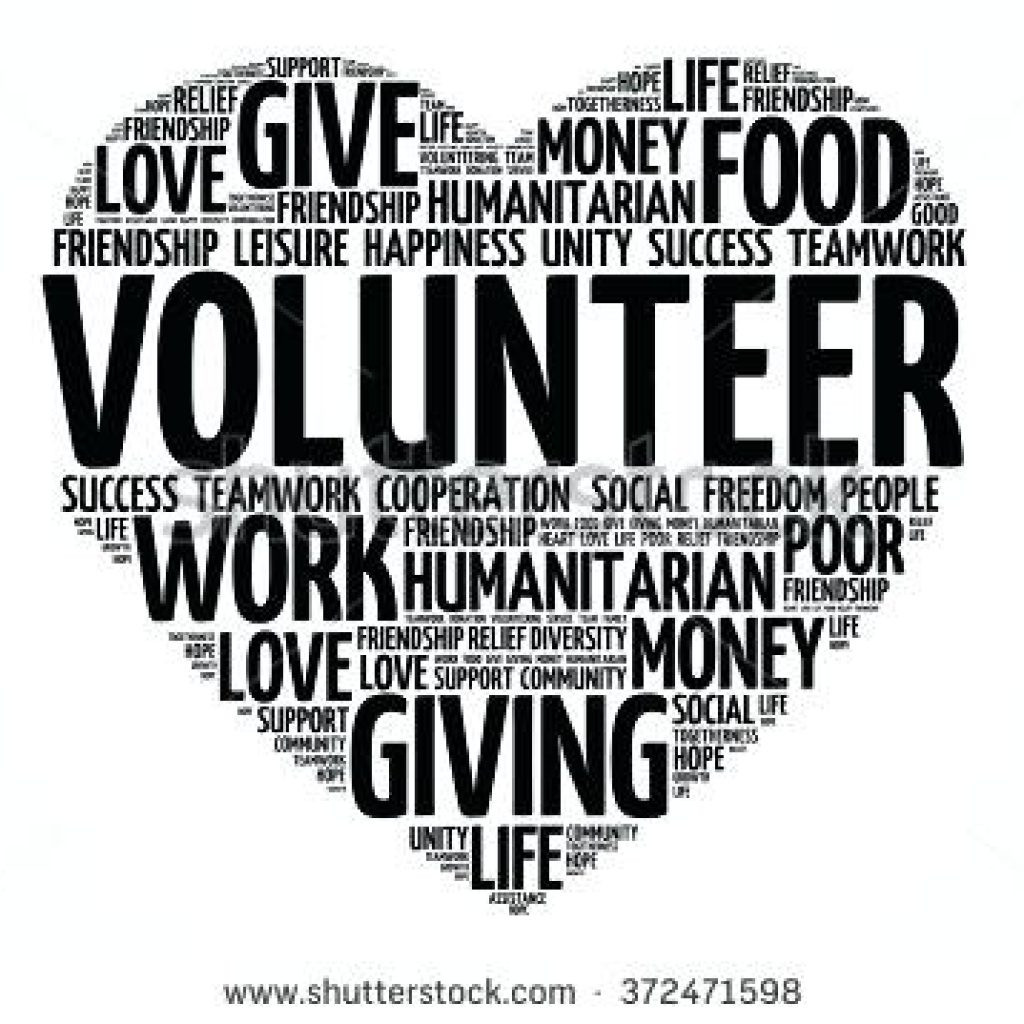 1078 Volunteer free clipart.