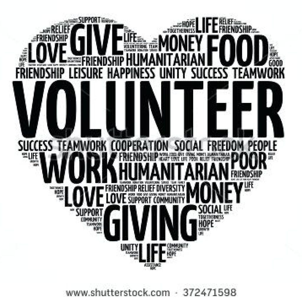 1078 Volunteer free clipart.