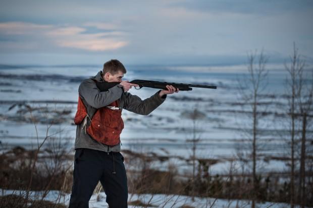 Rock Ptarmigan Hunting.
