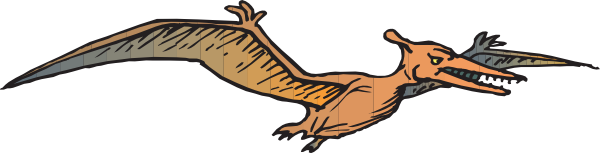 Free Pterodactyl Clip Art, Pterodactyl Free Clipart.