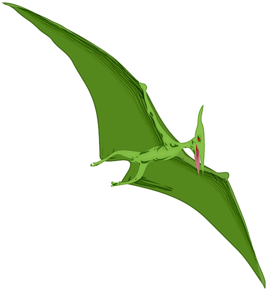 Free to Use & Public Domain Pterodactyl Clip Art.