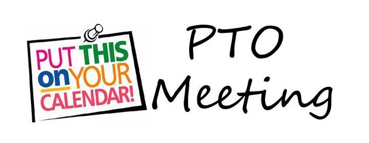 Last PTO meeting for this school year.