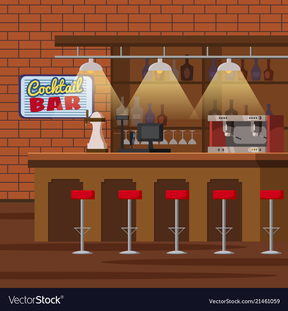 Pub Clipart bar counter 7.