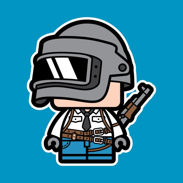 Check out this awesome \'Chibi+PUBG+Character\' design on.
