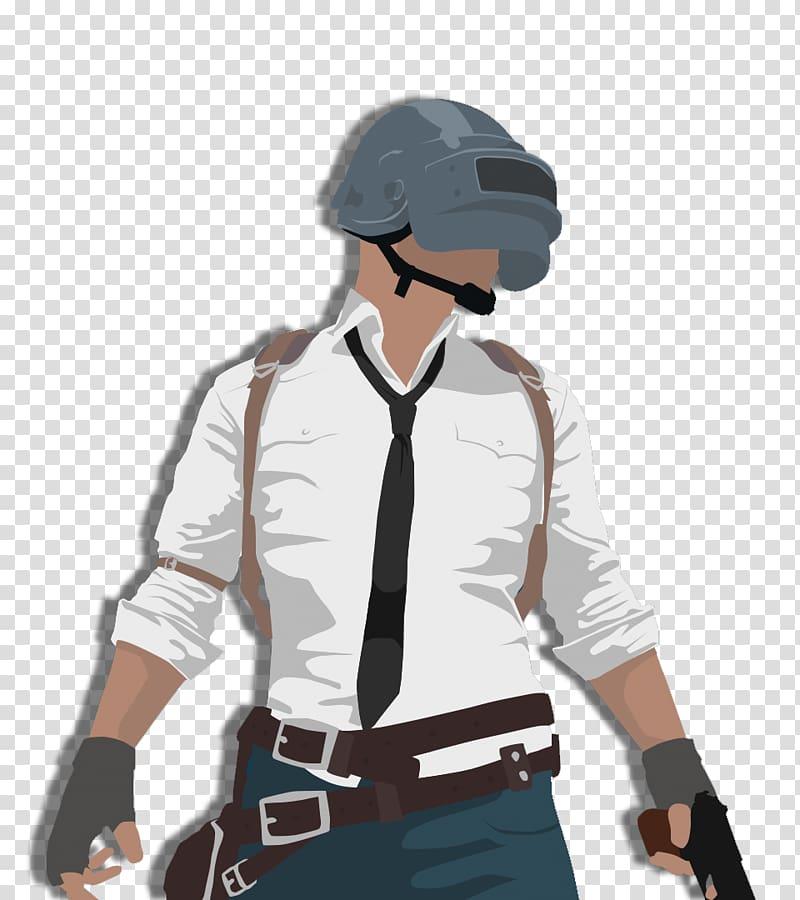 PUBG character illustration, PlayerUnknown\\\'s Battlegrounds.