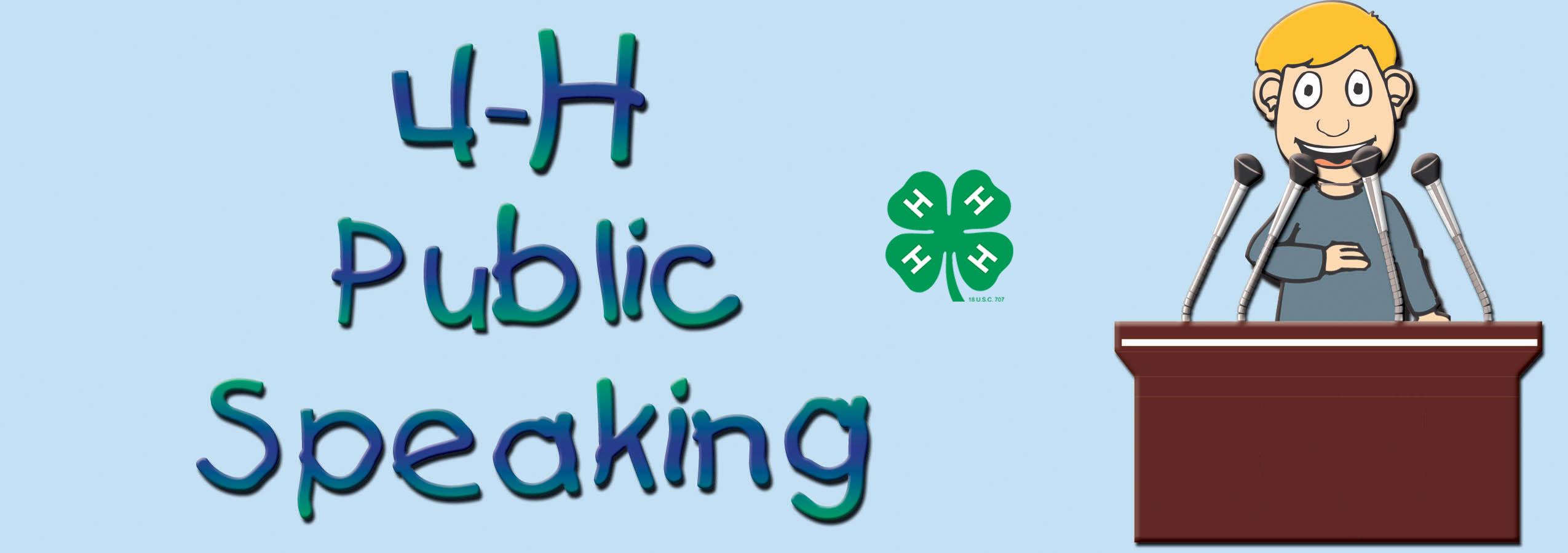 Public Speaking Clip Art ».