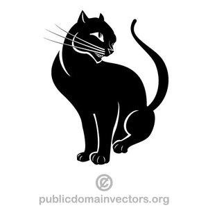 562 cat free clipart.