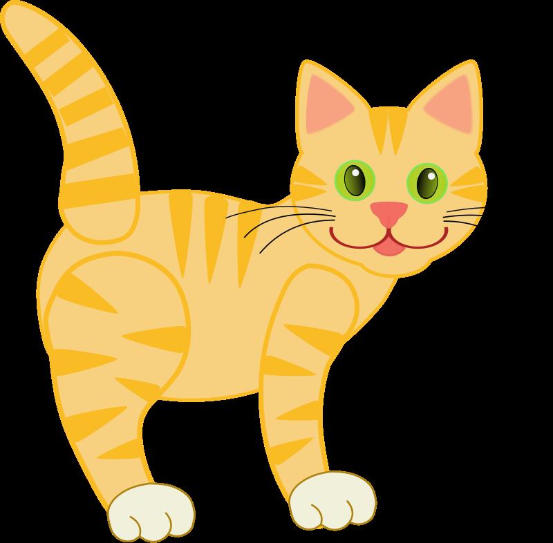 85+ Cat Clip Art Free.
