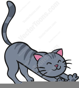 Fat Cat Clipart.