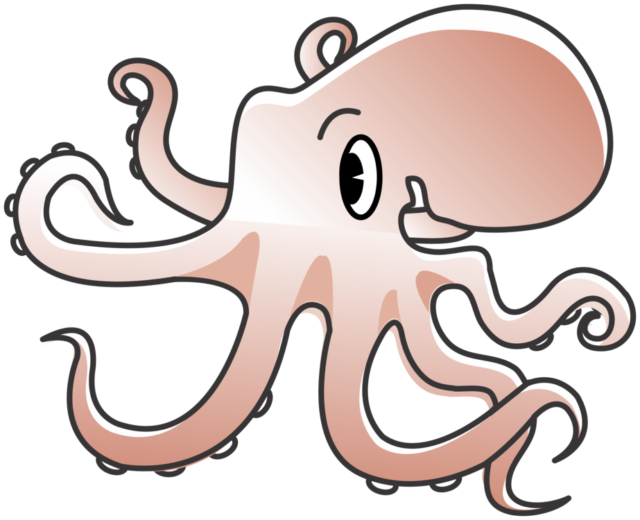 Organ,Octopus,Artwork Clipart.