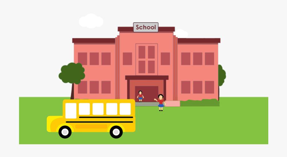 Free To Use & Public Domain School Building Clip Art.