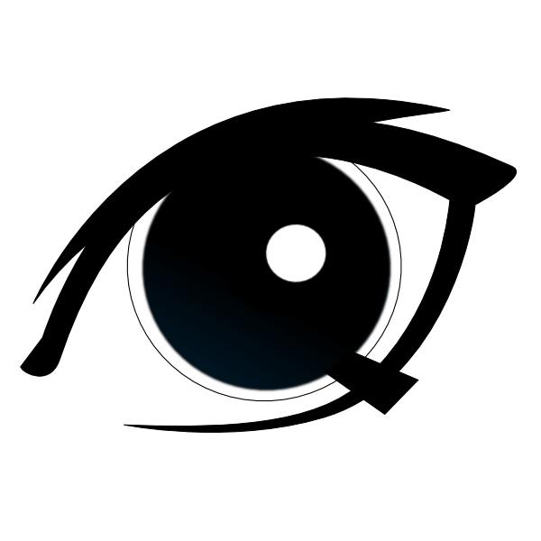 Public Domain Eye Clipart.