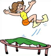Free Trampoline Clipart.