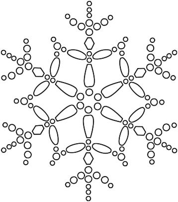 Free snowflake clipart public domain clip art images.