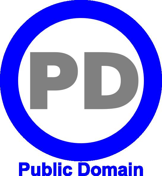Public Domain Icon Blue clip art (117463) Free SVG Download.