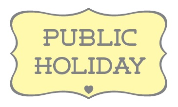 24, 25, and 28 December Declared public holidays by Federal.