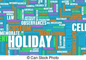 Stock Illustration of Holiday.