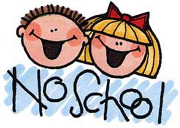 No School Monday Clipart.