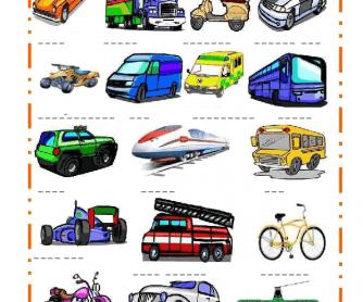 138 FREE Transport Worksheets.