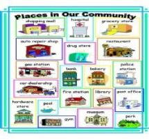 People And Places Clipart.
