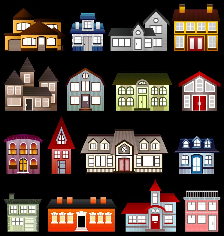 Public Places Clipart.