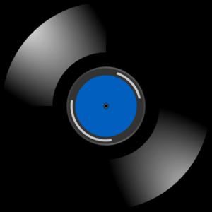 Blue Record Clip Art at Clker.com.