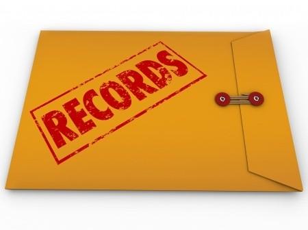 Public Records Clip Art.