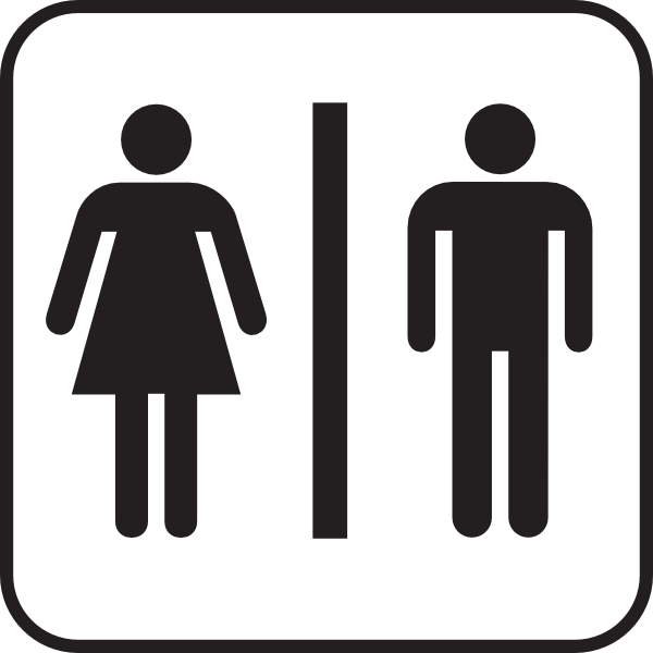 Men Women Bathroom Clip Art at Clker.com.