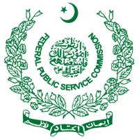 Federal Public Service Commission of Pakistan.