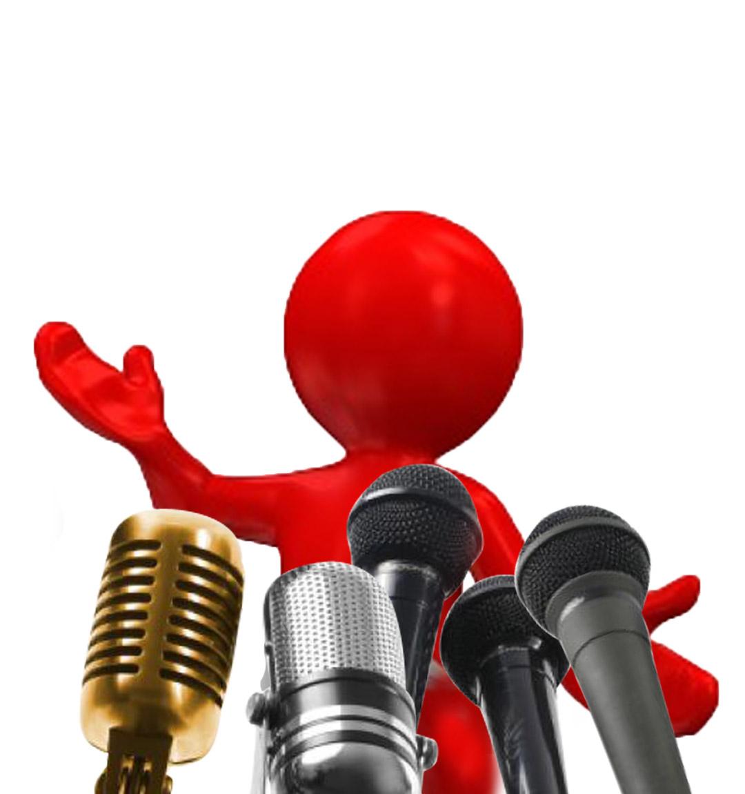 Public Speaking Clip Art N25 free image.