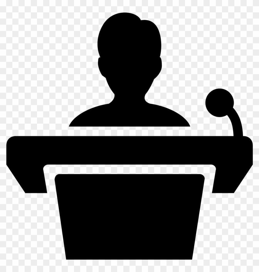Speaker Podium Png.