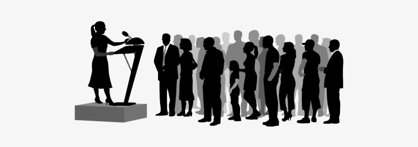 Crowd Silhouette Png Download.