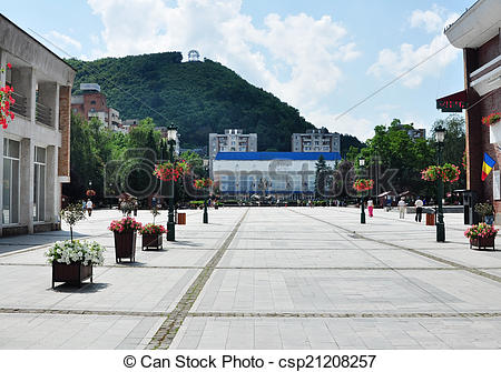 Stock Images of resita city.
