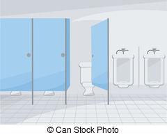 Public toilet clipart.