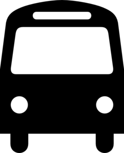 Bus Transportation Symbol Clip Art at Clker.com.