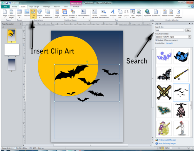 Microsoft Publisher Clip Art Free Download #218853.