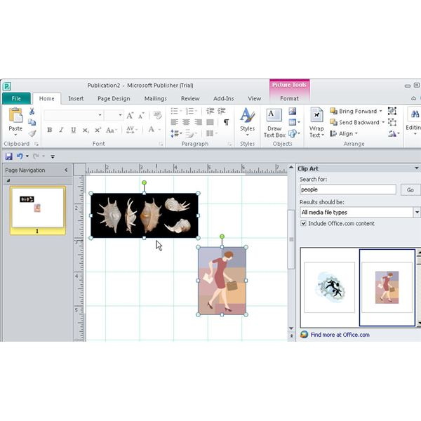 Discover New Microsoft Publisher 2010 Alignment Tools.