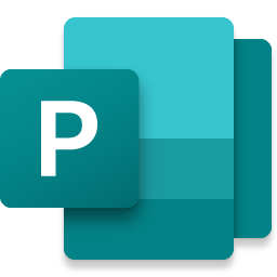 Microsoft Publisher.