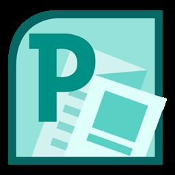Microsoft Publisher 2010 Icon.