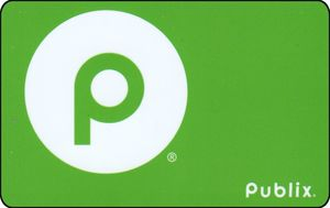 Gift Card: Logo (Publix, United States of America) (Publix) Col.