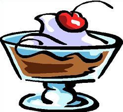 Pudding Cartoon Clipart.
