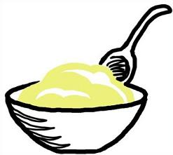 Free Pudding Clipart.