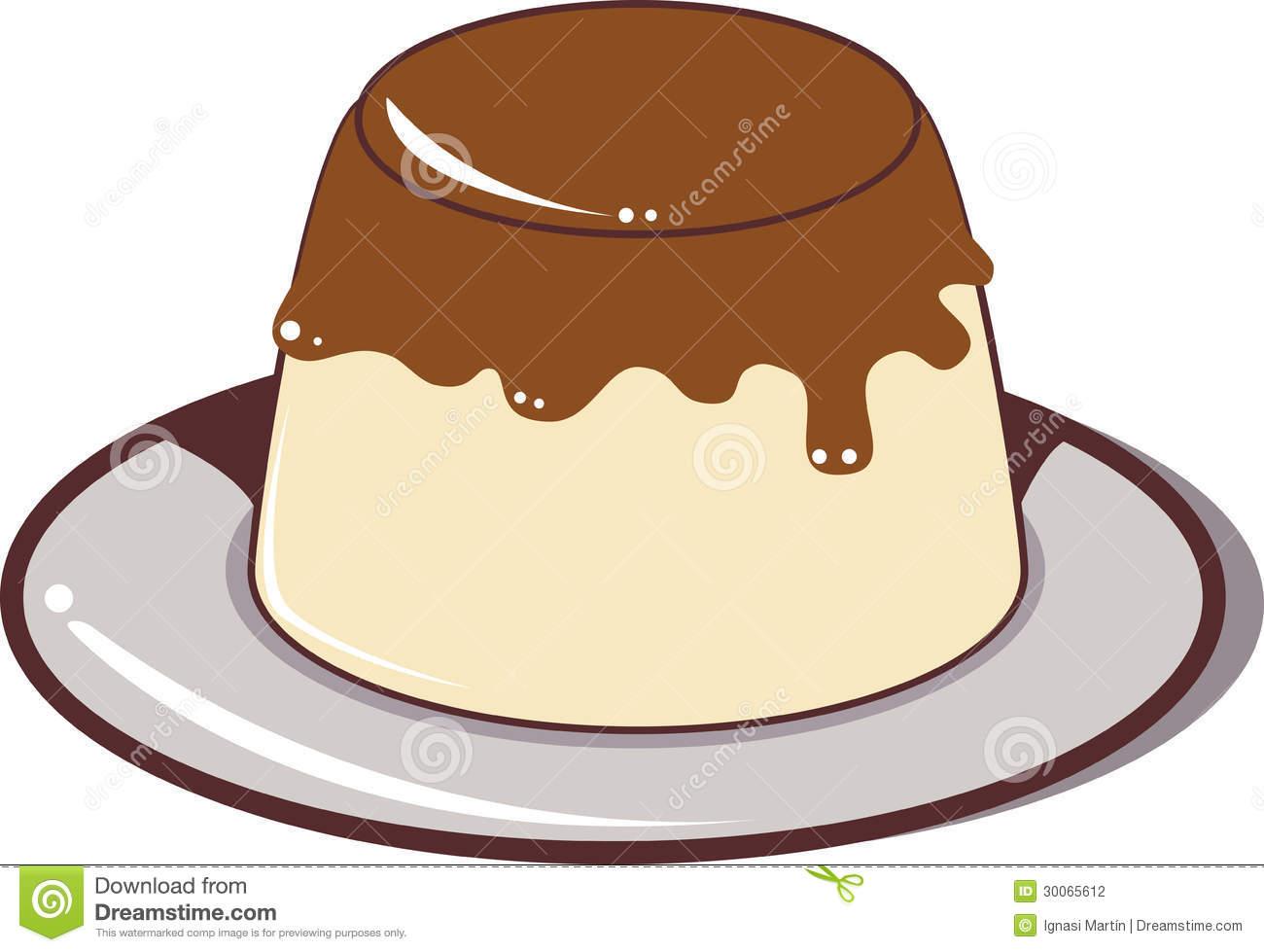 Bread Pudding Clipart.