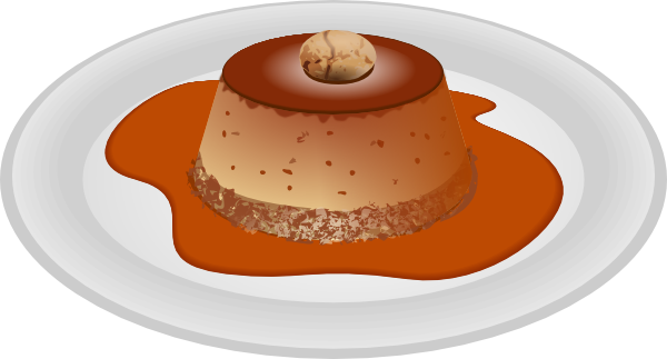 Pudding Clipart.