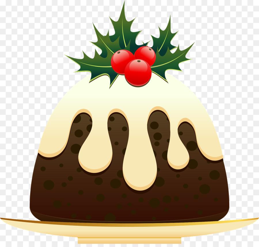 Christmas Cake clipart.